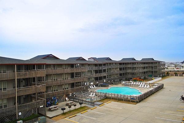 Outer Banks Beach Club Pool East Coast Condo Rentals