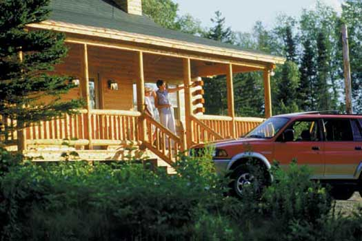 Rangeley Lake Resort Maine cabin