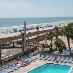 Yachtsman Resort Myrtle Beach Pool and Beach