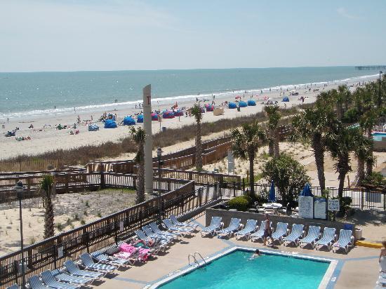 Yachtsman Resort Myrtle Beach Pool And Beach East Coast Condo Rentals