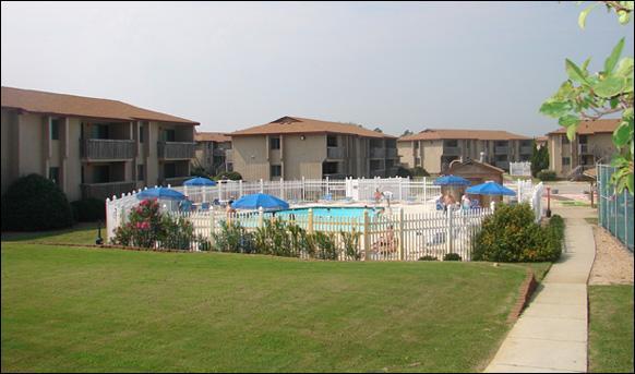 Sea Scape Beach Golf Villas Pool Area